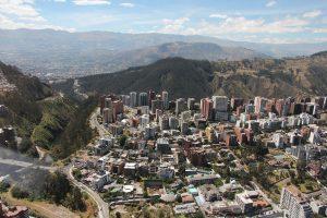 Vista aérea Gonzales Suarez