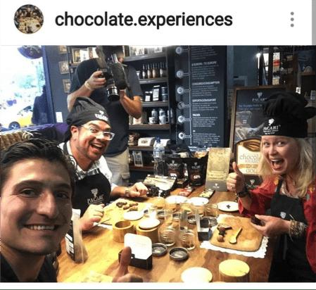 Pacari Trufas veganas y chocolate